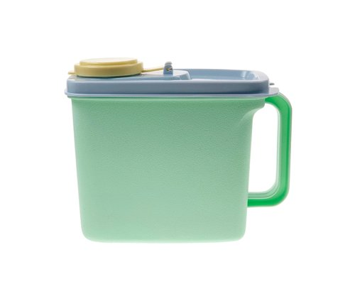 Plastic Kitchen Canister Mint