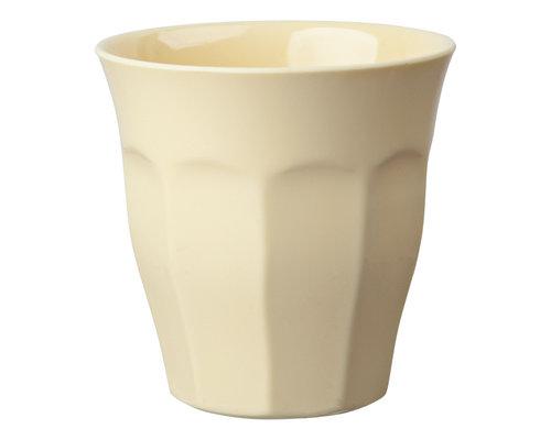 Medium Melamine Cup - Cream