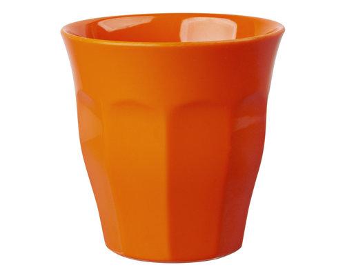Medium Melamine Cup - Neon Orange