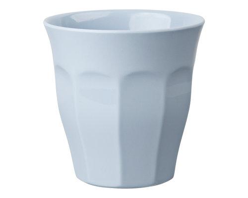 Medium Melamine Cup - Misty Blue