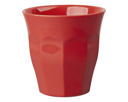Medium Melamine Cup - Red