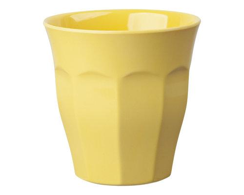 Medium Melamine Cup - Pastel Yellow