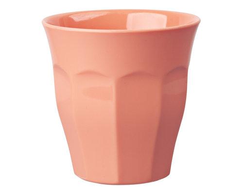 Medium Melamine Cup - Peach