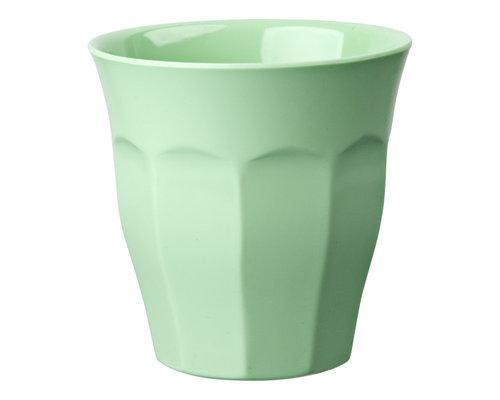 Medium Melamine Cup - Soft Mint