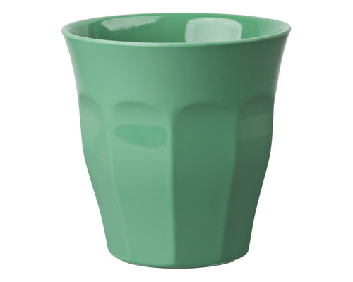 Medium Melamine Cup - Green