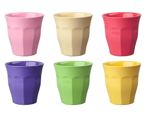 Medium Melamine Cup set - Pastel Colours #2