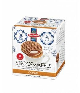 Daelmans Caramel Stroopwafels in Cube Box