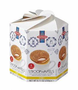 Daelmans Honey Stroopwafels in Hexa Box