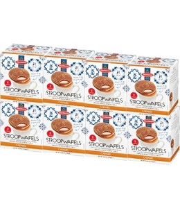 Daelmans Caramel Stroopwafels in Cube Box - Case of 8
