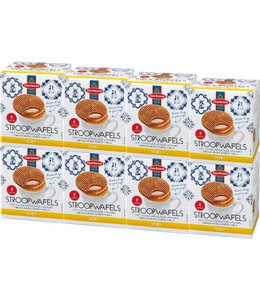 Daelmans Honey Stroopwafels in Cube Box - Case of 8