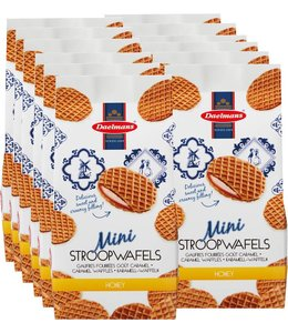 Daelmans Honey Mini Stroopwafels in Cello Bag - Case of 12