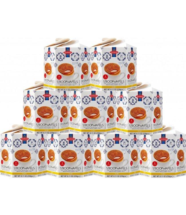 Daelmans Honey Stroopwafels in Hexa Box - Case of 9