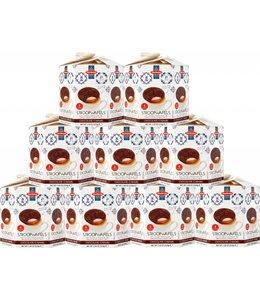 Daelmans Chocolate Stroopwafels in Hexa Box - Case of 9