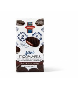 Daelmans Chocolate Mini Stroopwafels in Cello Bag