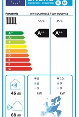Aquarea LT, Generation 'H' Splitsystem WH-SDC09H3E8/WH-UD09HE8