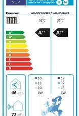 Aquarea LT, Generation 'H' Splitsystem  WH-SDC16H3E8/WH-UD16HE8