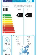 Aquarea T-CAP, Generation 'H Splitsystem WH-SXC09H3E8 / WH-UX09HE8