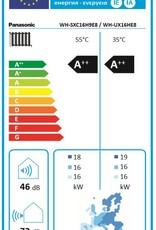 Aquarea T-CAP, Generation 'H Splitsystem WH-SXC16H9E8 / WH-UX16HE8