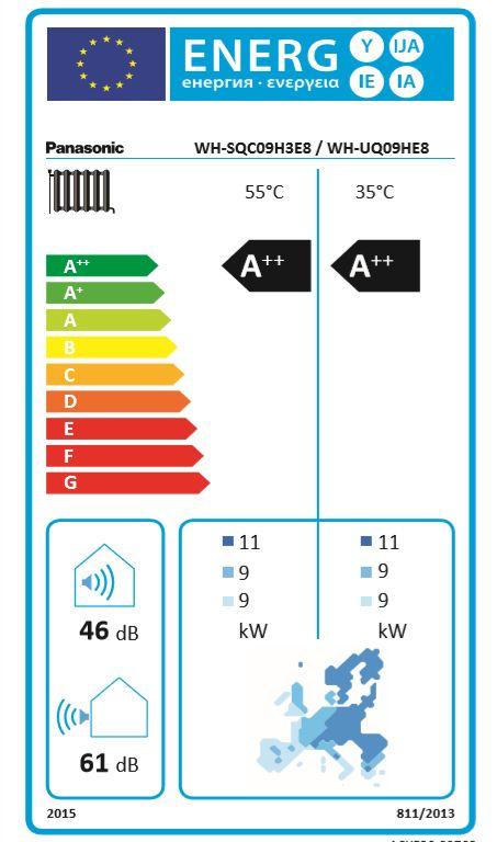 9 kW Heizen und Kühlen Modell T-CAP Super Quiet