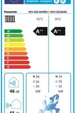 Aquarea T-CAP, Generation 'H Super Quiet Splitsystem WH-SQC16H9E8 / WH-UQ16HE8
