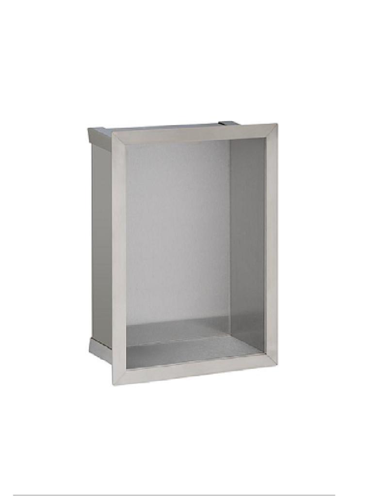 Edelstahl-Wandeinbaunische 235x325 mm