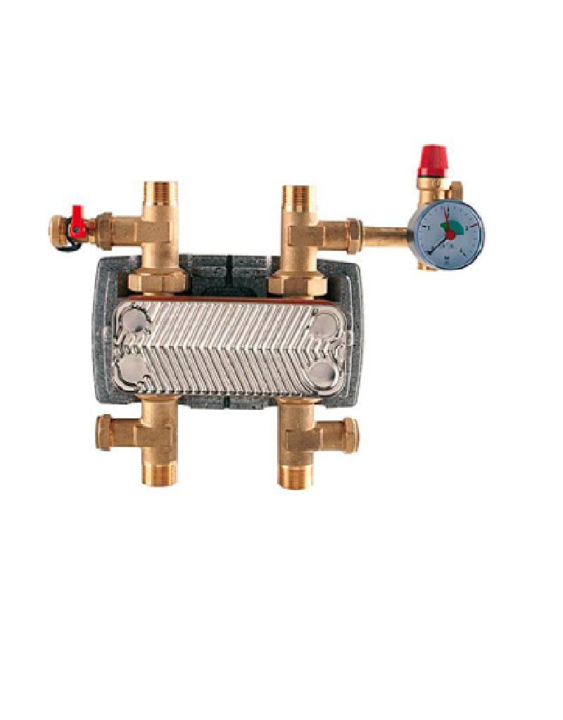 Systemtrennung m. Wärmetauscher max. 30 kW