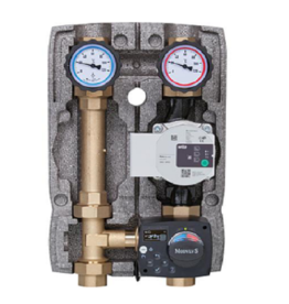 Konstantwert-Regelkreis 1'' mit Stellmotor+Pumpe