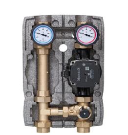 Heizkreisset 1'' mit Pumpe + 3-Wege-Mischer