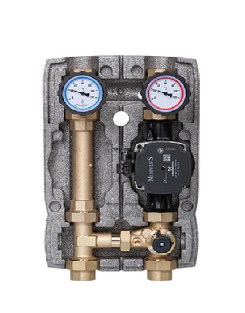 Heizkreisset 1'' mit Pumpe und 3-Wege-Mischer