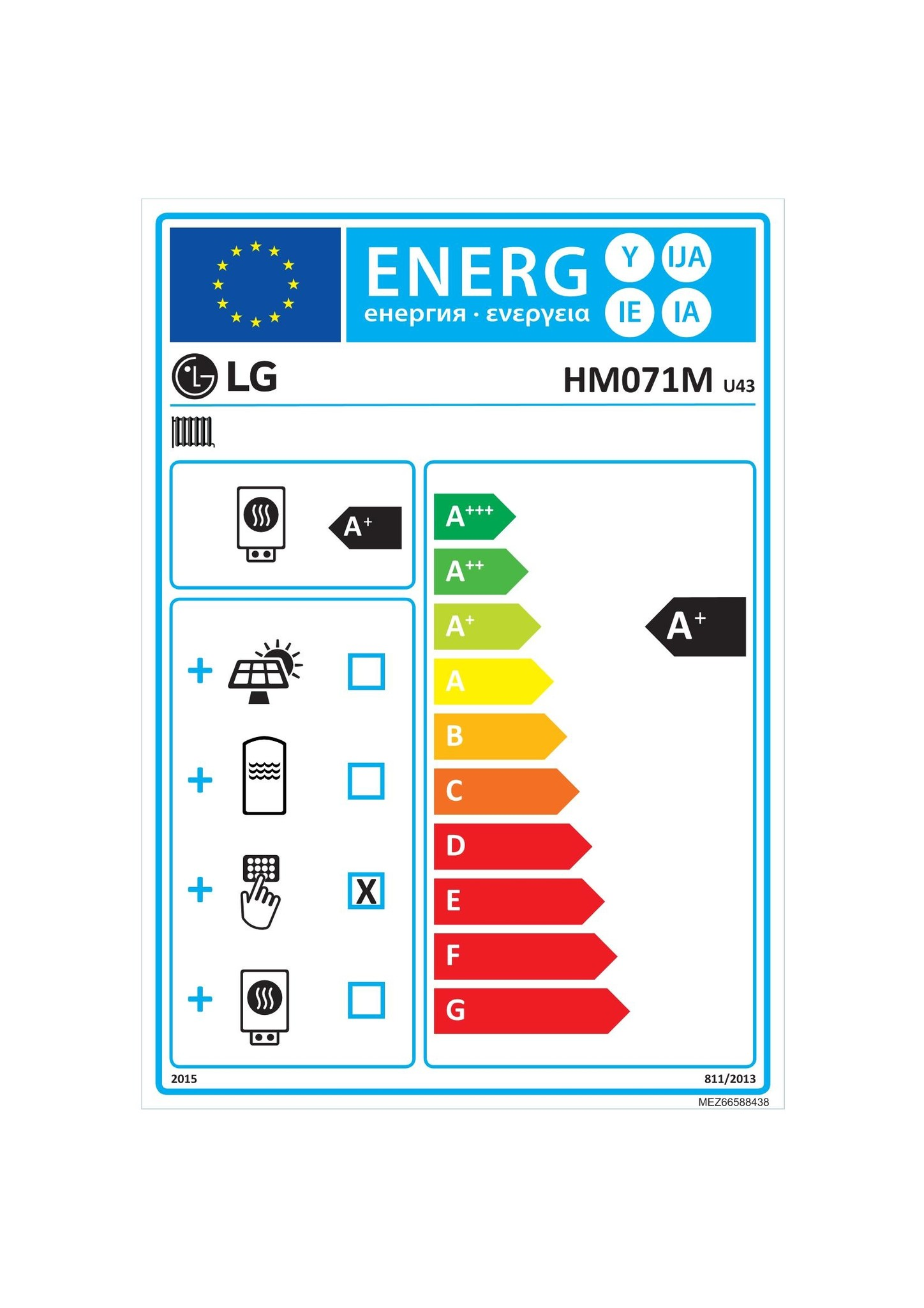 LG  Therma V Modell HM071M