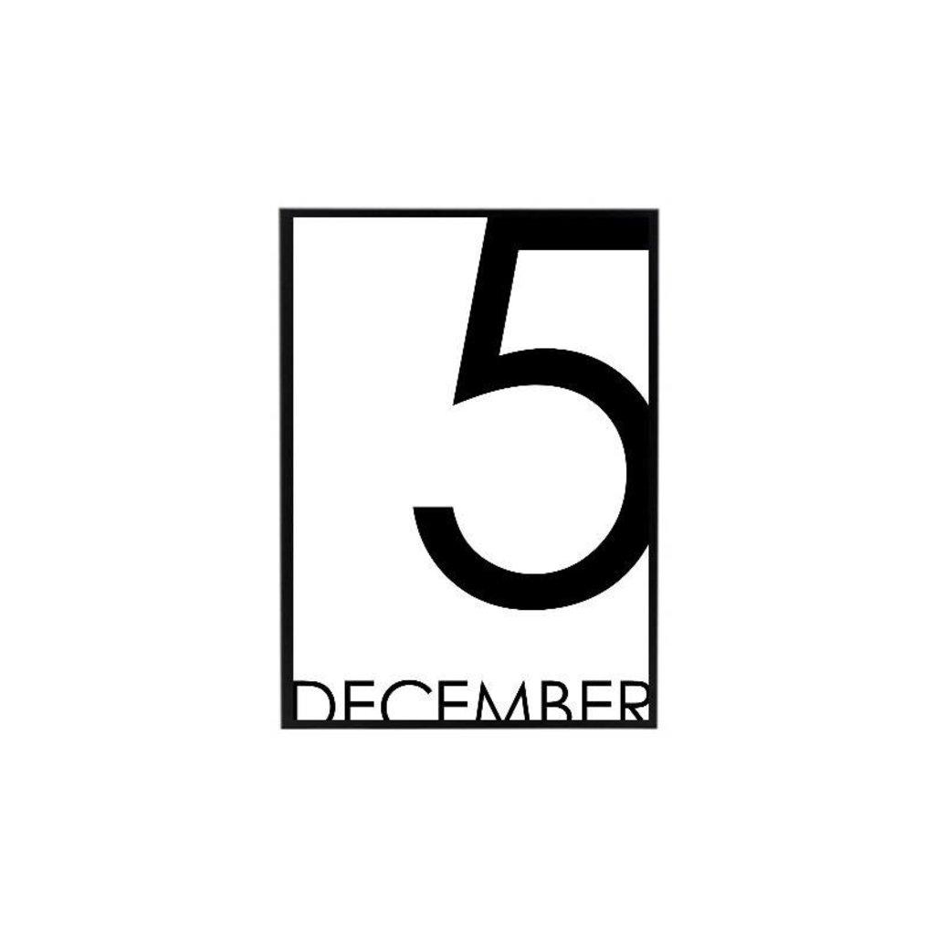 Sinterklaas Poster 5 december