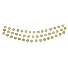 Delight Department Gold Circle Garland