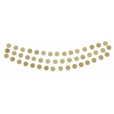 Gold Circle Garland
