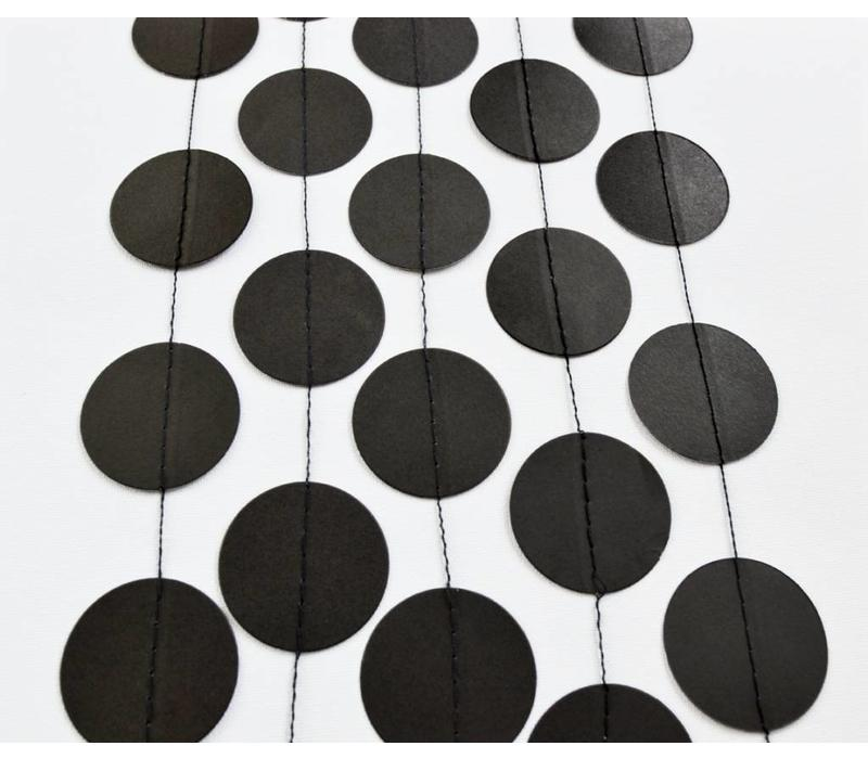 Black Circle Garland