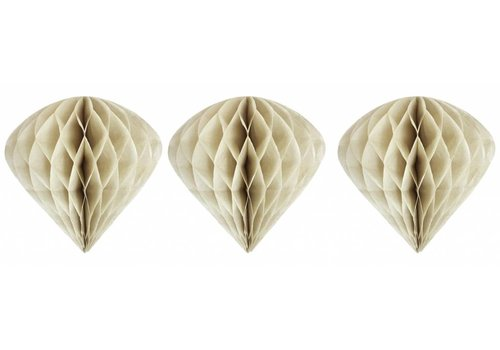 Delight Department Cone shaped ornaments