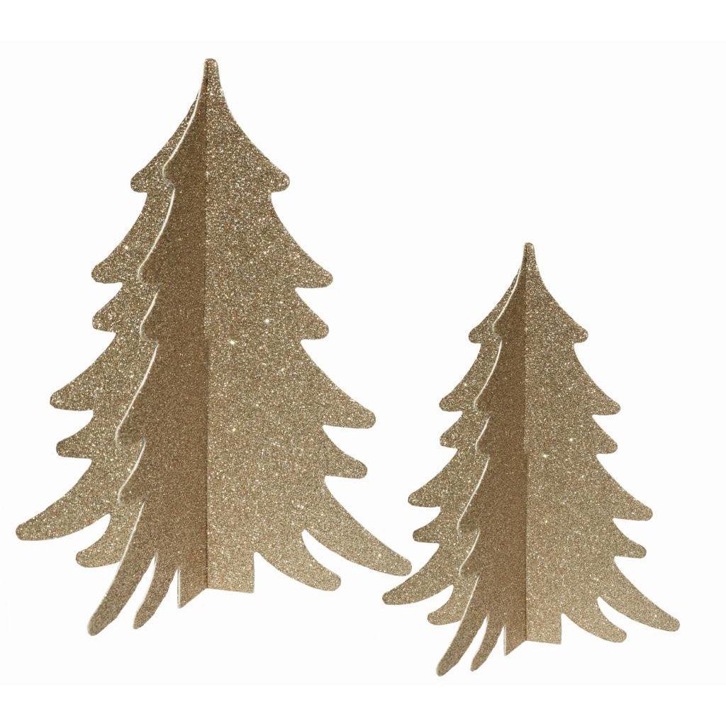 Delight Department Decor boompjes goud met glitter