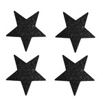 Delight Department Ster Stickers met zwarte glitter