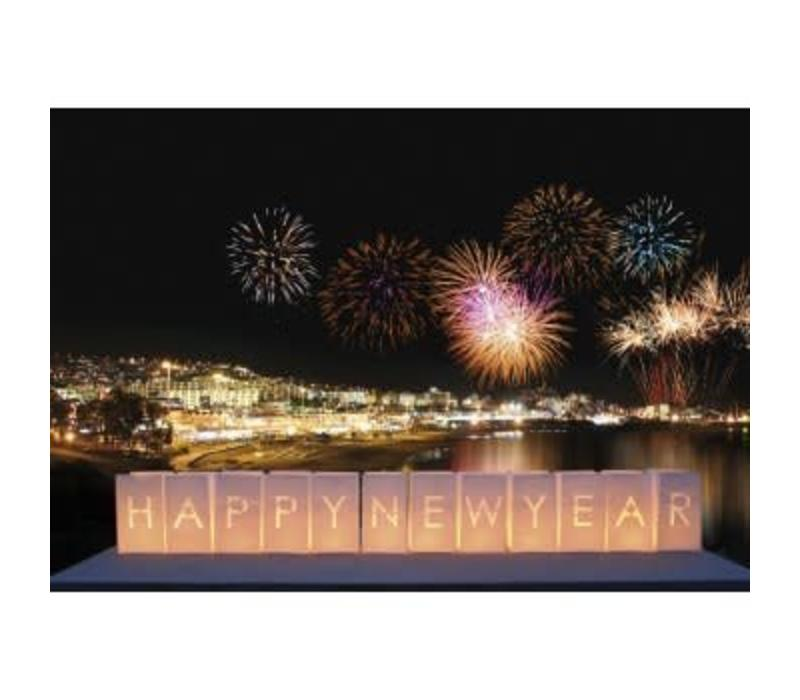 Tindra Happy New Year Candlebags