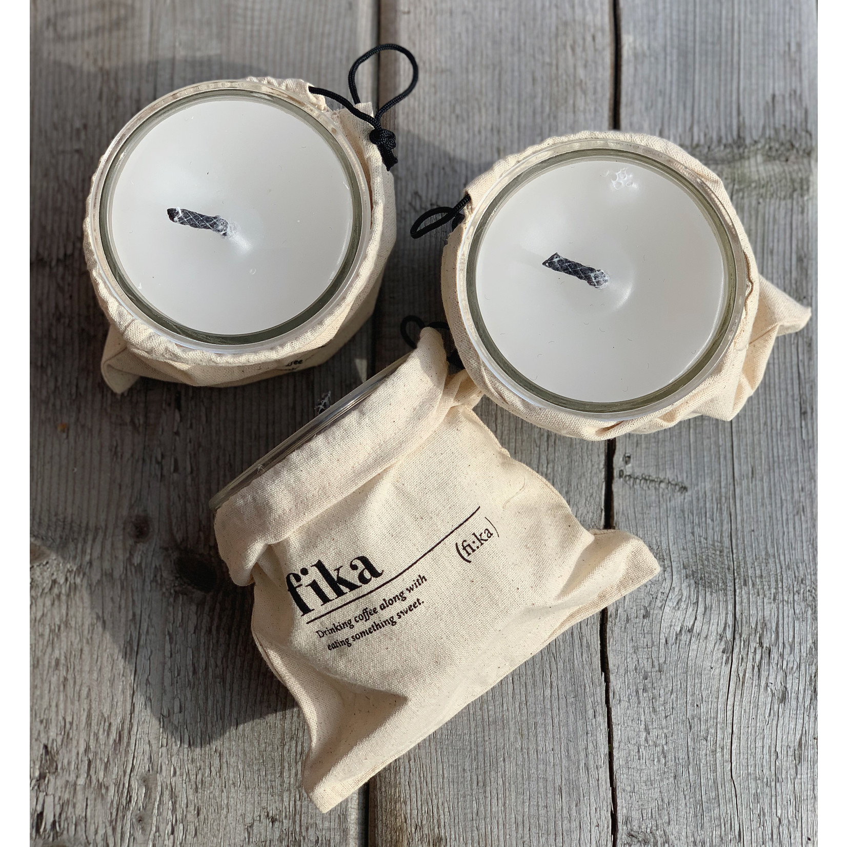 Outdoor Candle in gift bag