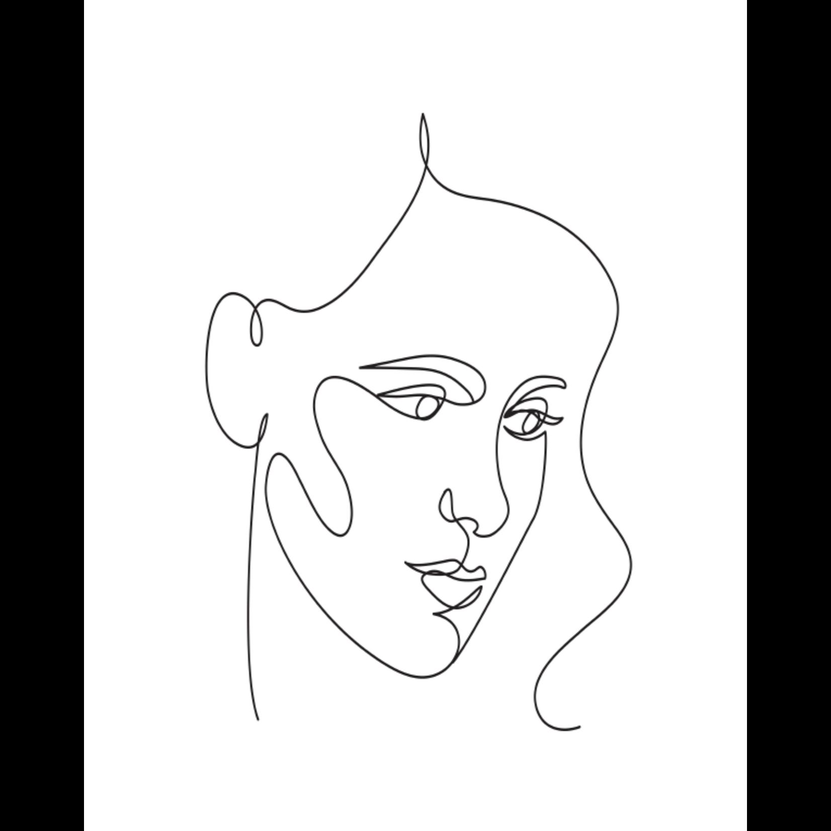 A4 poster Woman