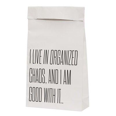 Paper bag met tekst