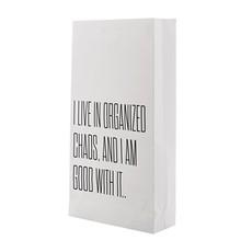 Bloomingville Paper bag met tekst