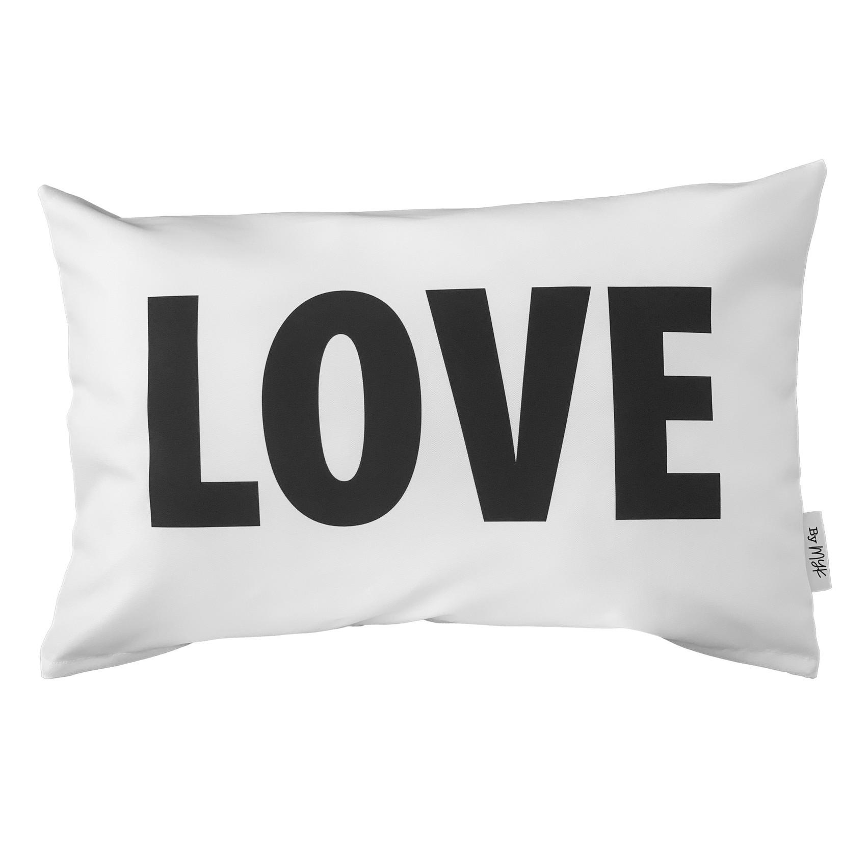 Buitenkussen Love/Hart