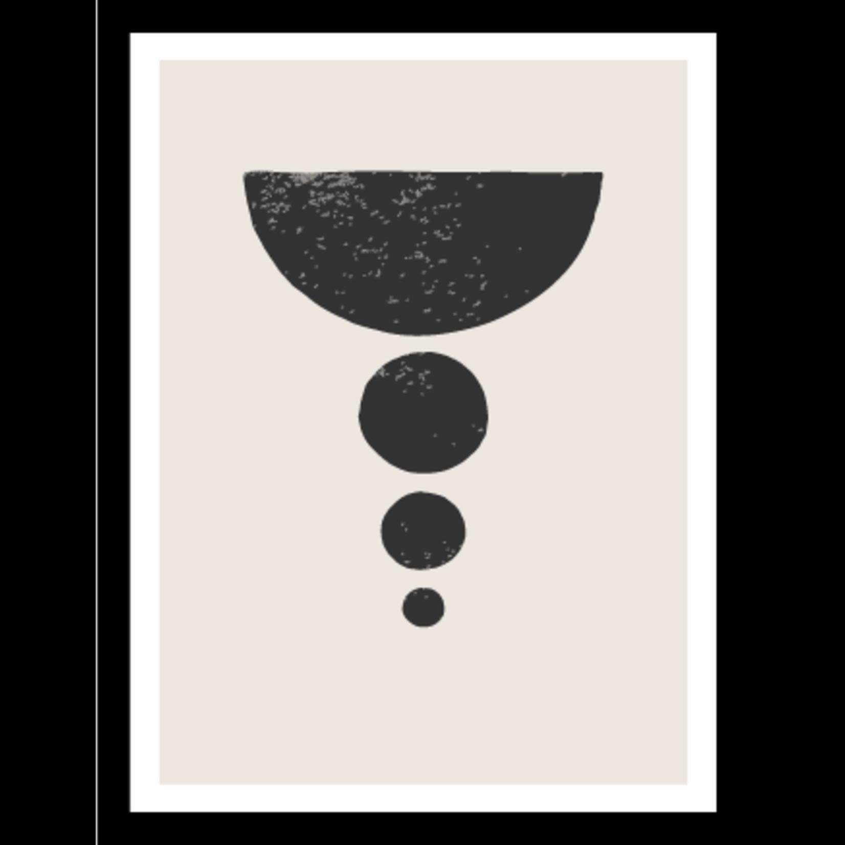 Watervaste Posters Minimalistisch s/4