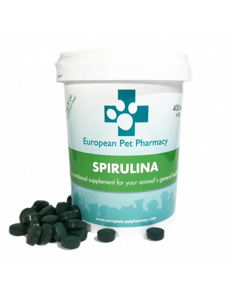 European Pet Pharmacy Spirulina - 400tabl