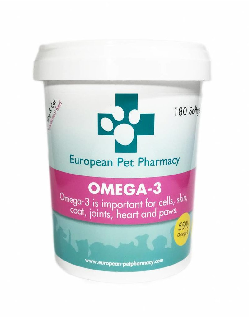 European Pet Pharmacy Omega 3 - 180tabl