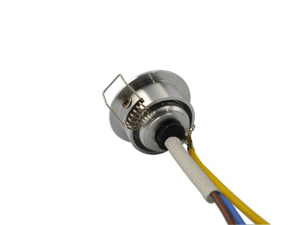 Ledika LED Inbouwspot 2W warm wit dimbaar