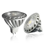Ledika LED Spot 5W 350lm MR16 COB dc12v warm wit