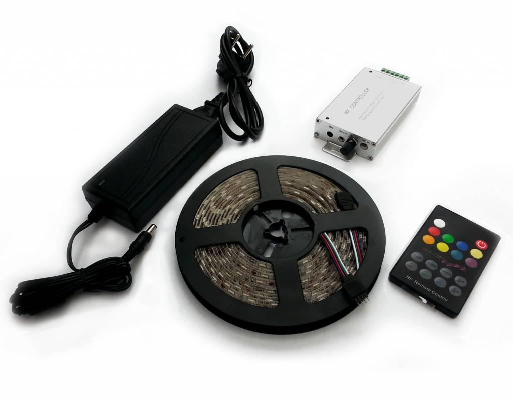 Ledika LED Stripset 5050 60pcs 12V IP65 rgb music controller