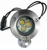 Ledika LED Outdoor Onderwater spot 9W warm wit IP68